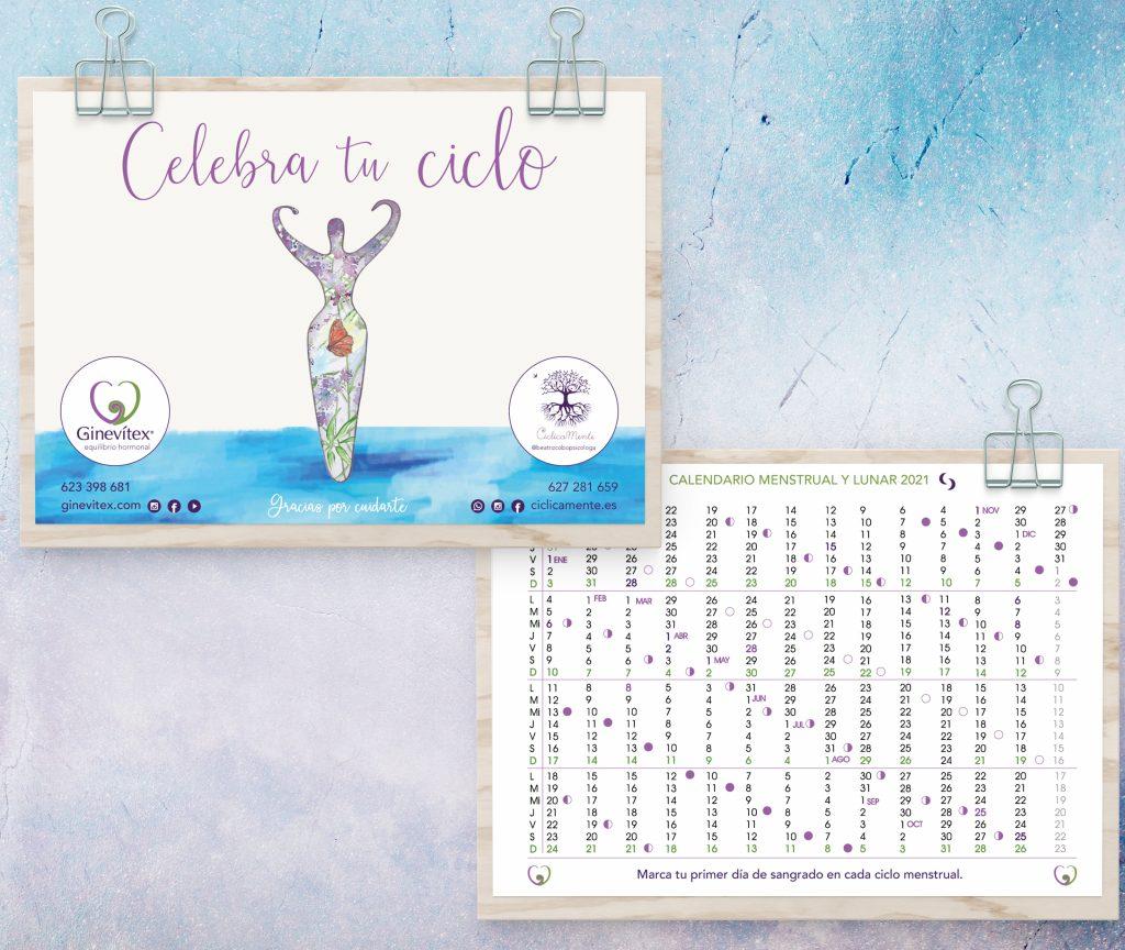 Calendario lunar 2021 Ginevítex